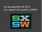 on saturday march 8 2014 four experts will