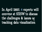 in april 2015 4 experts will convene at sxsw