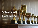 5 traits of excellence