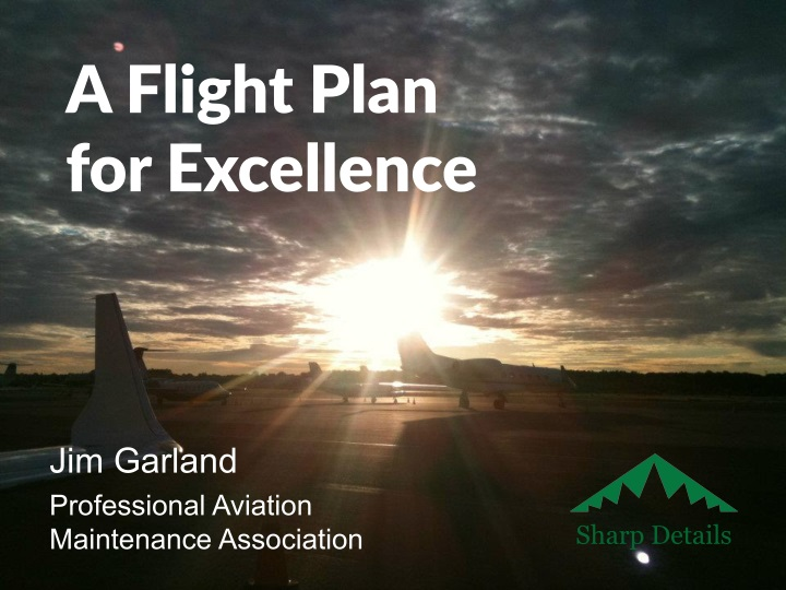 a flight plan for excellence n.