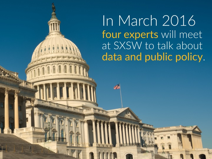 in march 2016 four experts will meet at sxsw n.