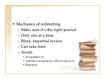 mechanics of submitting make sure it s the right