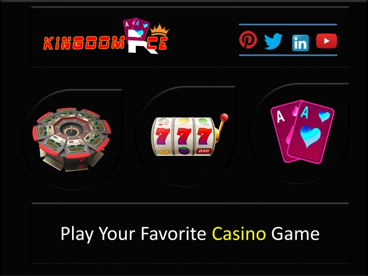play your favorite casino game n.