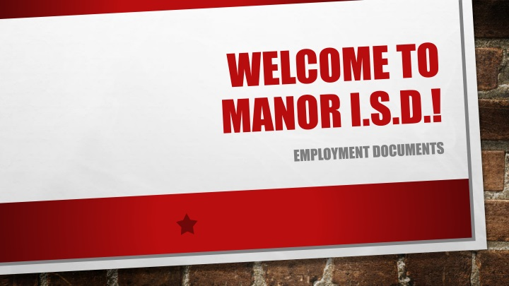 welcome to manor i s d n.