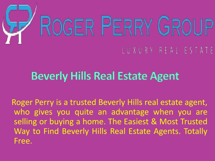 beverly hills real estate agent n.