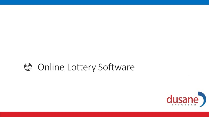 online lottery software n.