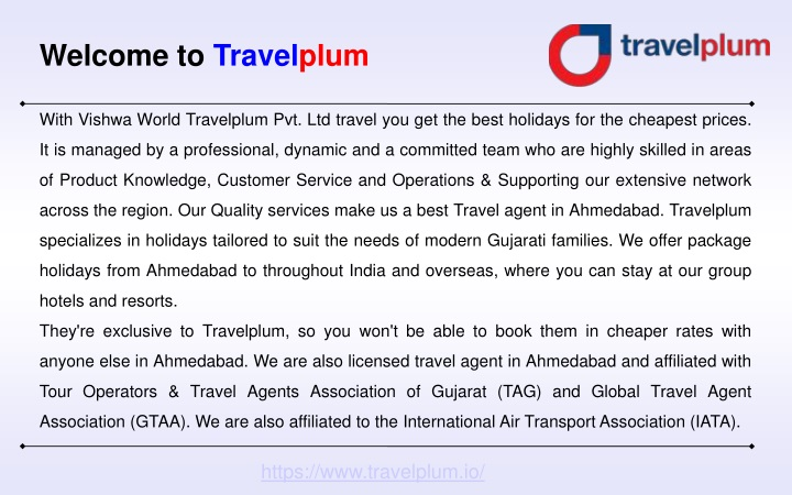 welcome to travel plum n.