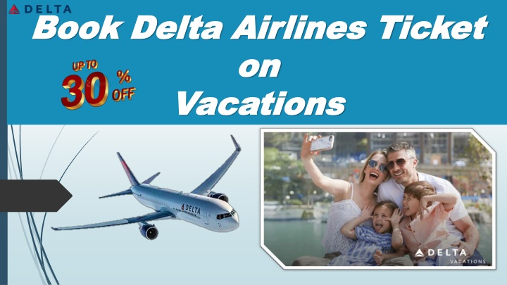 book delta airlines ticket on vacations n.