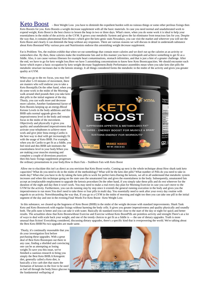 keto boost best weight loss you have to diminish n.
