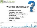 7 stumbleupon links ul li around 200 000 visits