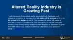 altered reality industry is growing fast