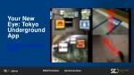 your new eye tokyo underground app