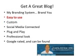 get a great blog