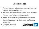 linkedin edge
