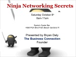 ninja networking secrets