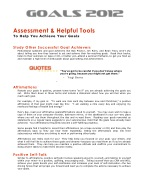 assessment helpful tools to help you achieve your