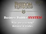 business builder system
