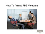 how to attend feg meetings