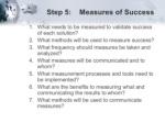step 5 measures of success ul li what needs