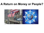 a return on money or people
