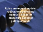 rules are mental models regulations governing