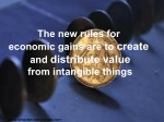 the new rules for economic gains are to create