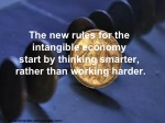 the new rules for the intangible economy start
