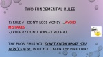two fundemental rules
