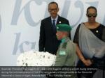 rwandan president paul kagame and jeannette
