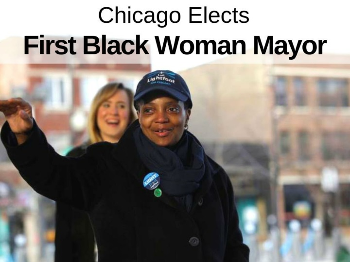chicago elects first black woman mayor n.
