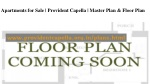 apartments for sale provident capella master plan floor plan