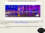 event photojournalism and its virginia event