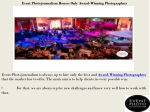 event photojournalism houses only award winning