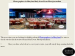 photographers in maryland only from event