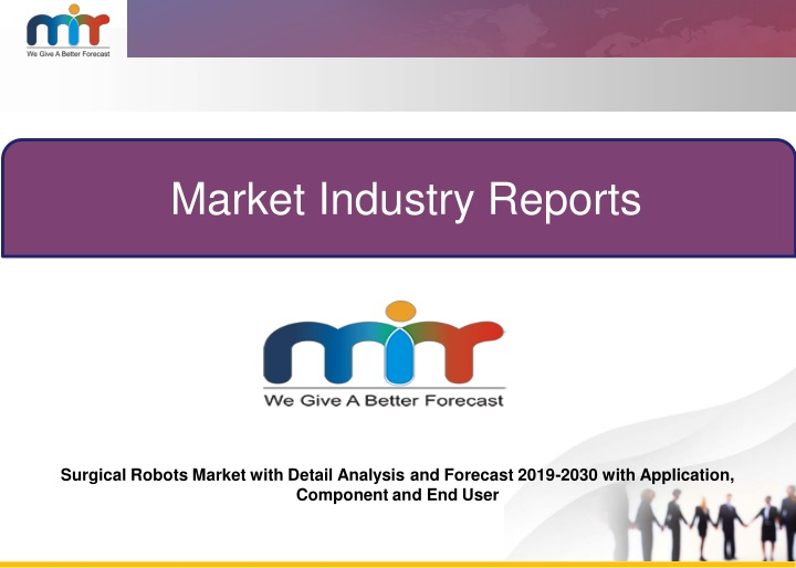 market industry reports n.