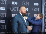 hafthor julius bjornsson and pedro pascal reuters