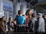 jason momoa gives an interview on the red carpet