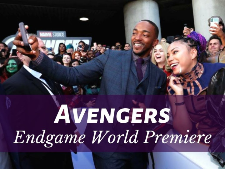 avengers endgame world premiere n.