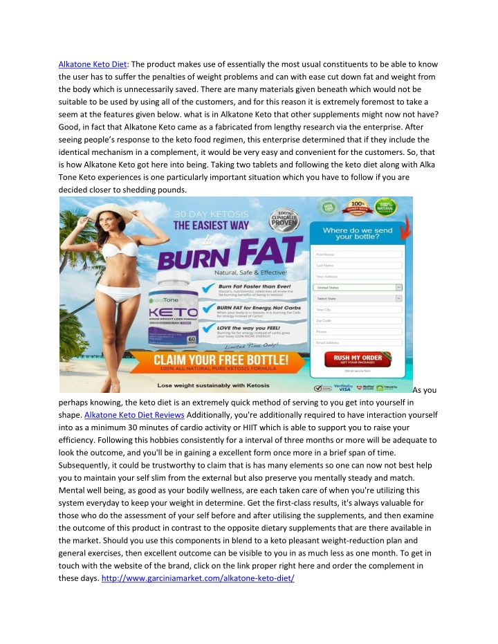 alkatone keto diet the product makes n.