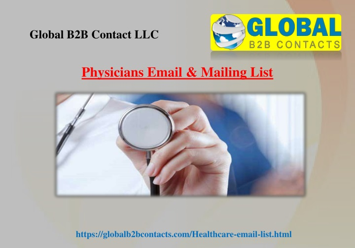 physicians email mailing list n.