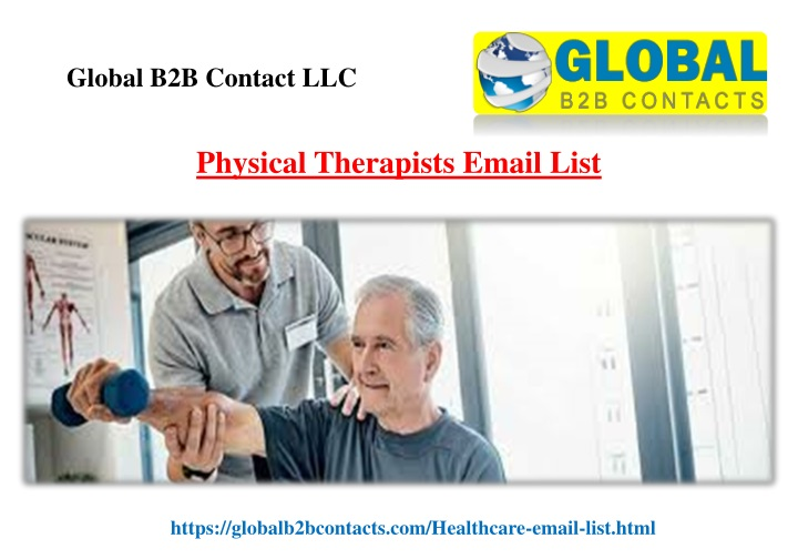physical therapists email list n.