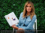 first lady melania trump reads the wonderful