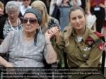 israeli soldier shira tessler holds the hand