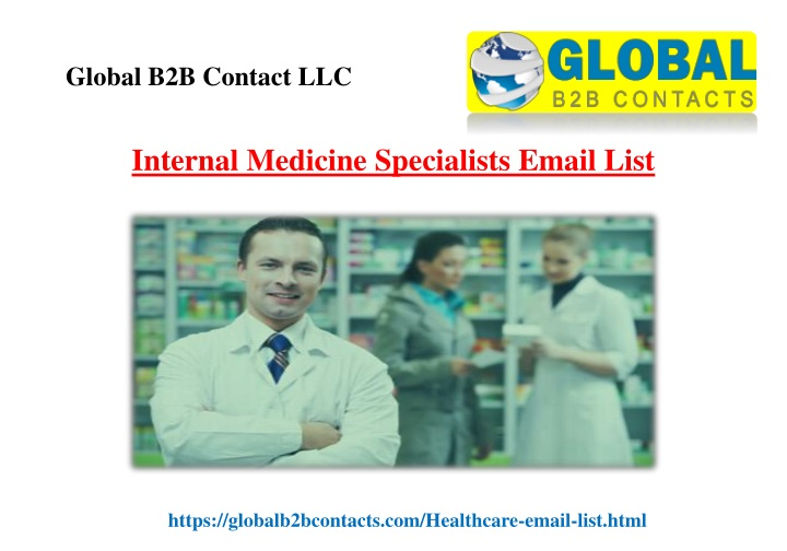 internal medicine specialists email list n.