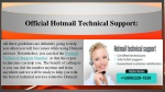 official hotmail technical s upport