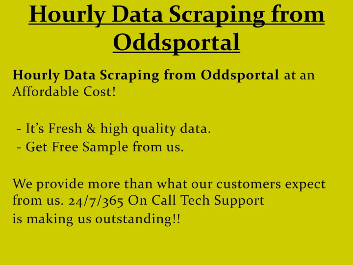 hourly data scraping from oddsportal n.