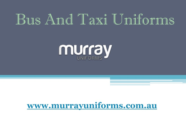 bus and taxi uniforms n.