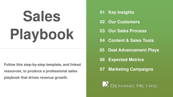 Ppt Sales Playbook Template Powerpoint Presentation Free Download Id 8300254