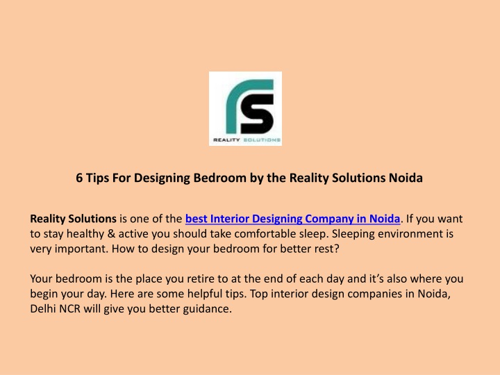 6 tips for designing bedroom by the reality n.