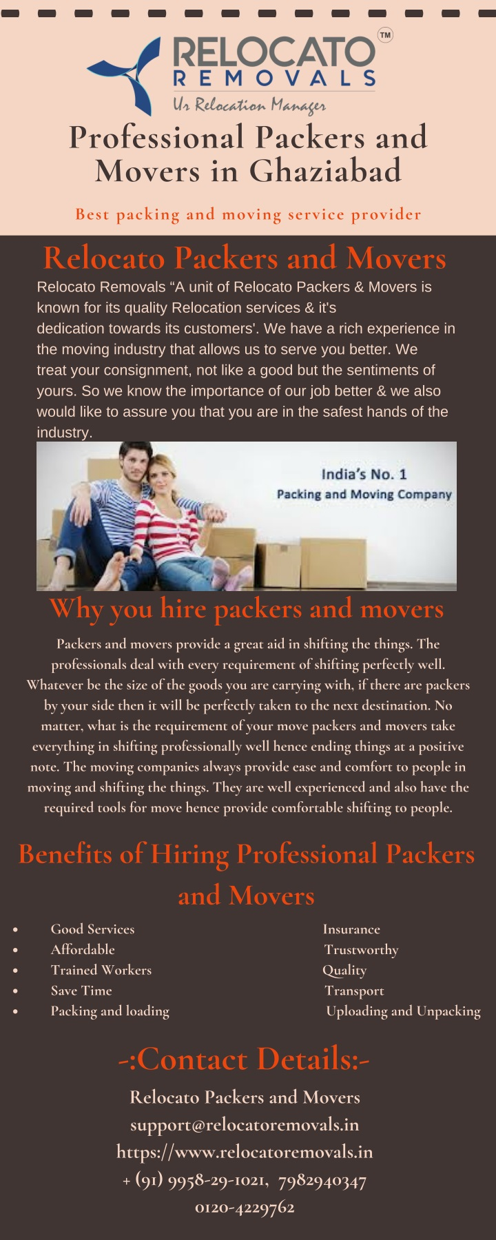 professional packers and movers in ghaziabad n.